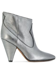 Are you ready, boots? Shop designer boots for women at Farfetch and find everything from biker to hiking, thigh-high to Chelsea by your favorite brands. Leather Booties, Ankle Booties, Bootie Boots, Metallic Ankle Boots, Real Leather, Metallic Leather, Designer Boots, Chelsea Boots, Combat Boots