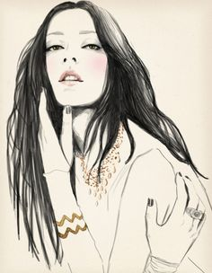Sandra-Suy-Fashion-Illustrations-15.jpg (600×774)