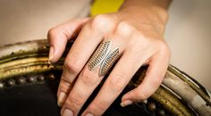 Silver Tribal Ring Ethnic ring Stunning by MademoisellEthniChic, $58.00