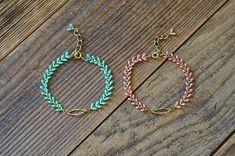 Chevron, Boho, Messing, Turquoise Necklace, Etsy Shop, Bracelets, Jewelry, Neck Chain, Bracelet