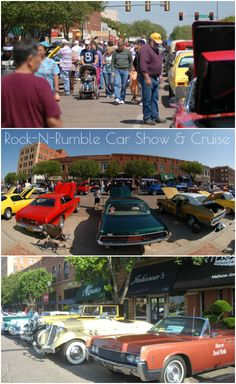 The Rock-N-Rumble Car Show & Cruise in Altus features dozens and dozens of unique and awesome cars on display as well as a burnout contest, live entertainment, parties and food throughout downtown.