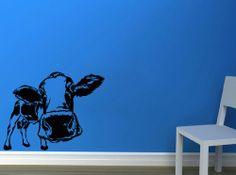 Wall Vinyl Decal Sticker Art Design Animal Cow Living Room Nice Picture Decor Hall Wall Chu1093 Thumbs up decals http://www.amazon.com/dp/B00K20XATG/ref=cm_sw_r_pi_dp_Wvm1tb0MR92JD50H