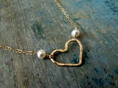 Pearls and Hearts, the perfect combination - Made in Canada
