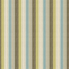 Exquisite capri stripes upholstery fabric by Kravet. Item 32794.530.0. Huge savings on Kravet luxury fabric. Free shipping! Featuring Thom Filicia. Over 100,000 patterns. Strictly 1st Quality. Width 53 inches. Swatches available.
