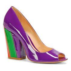 Sapato Peep Toe Luiza Barcelos