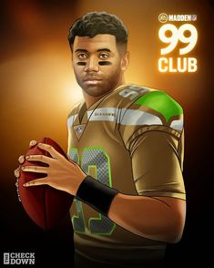 "𝑹𝒖𝒔𝒔𝒆𝒍𝒍 𝒂𝒏𝒅 𝑪𝒊𝒂𝒓𝒂 𝑾𝒊𝒍𝒔𝒐𝒏 on Instagram: ""Welcome to the #99Club, @dangerusswilson! 🙌🏾 #Madden21"""