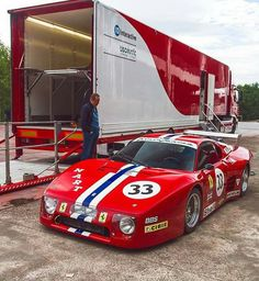 Classic Car News Pics And Videos From Around The World Sports Car Racing, Racing Team, Sport Cars, Ferrari Berlinetta, Ferrari F40, Lamborghini, Vintage Racing, Vintage Cars, Royce Car