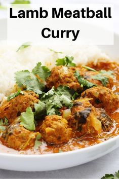 You will love this spicy homemade lamb meatball curry in a delicious coconut curry sauce. It's an easy curry to make at home and perfect for a weekend curry night or simple spicy midweek dinner. Lamb Recipes, Entree Recipes, Curry Recipes, Lunch Recipes, Easy Dinner Recipes, Indian Food Recipes, Real Food Recipes, Chicken Recipes, One Pot Meals