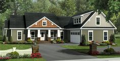The Canterbury Lane House Plan - 1031