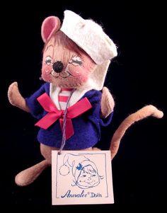 Annalee Dolls ~ Sailor Mouse 1990