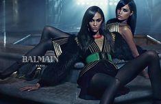Joan & Erika Smalls for Balmain