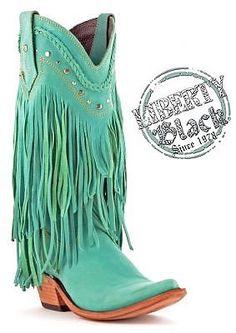af6bce4a133f1 Liberty Black Vegas Long Fringe Turquoise Cowboy Boots Turquoise Cowboy  Boots, Cowgirl Boots, Long
