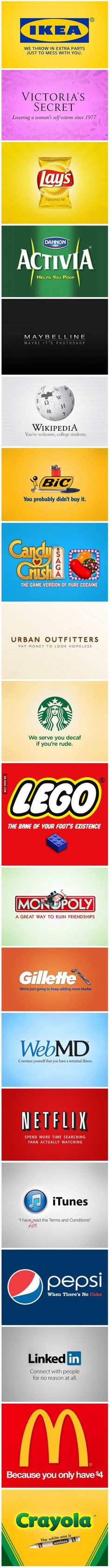 The truth behind famous logos
