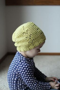 Instant Download  Crochet Pattern  Dragonfly Slouch by Mamachee, $5.50