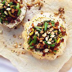 Přeplněný patizon – A co teda jíš? – Veganské recepty Sugar Free Recipes, Vegan Recipes, Gaps Diet, Raw Vegan, Tofu, Vegetable Pizza, Gluten Free, Vegetables, Fitness