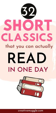 Classic Novels To Read, Classics To Read, Great Novels, Classic Books, Free Books To Read, Good Books, How To Read More, Short Novels, Struggling Readers