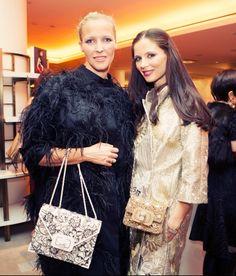 Parties — The Eyes Have It - Marchesa designers Keren Craig and Georgina Chapman.