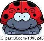 Clipart Happy Ladybug Royalty Free
