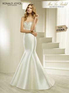 Satin Dresses, Bridal Dresses, Designer Wedding Dresses, Wedding Gowns, Mori Lee Bridal, Fishtail Dress, Marie, Ball Gowns, Ronald Joyce