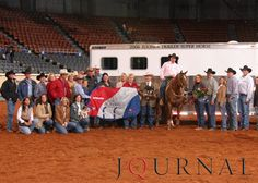 The 2006 Farnam Superhorse Award was presented to the1998 mare, RS Lilly Starlight, who is owned by Kurt and Angie Harris of Whitesboro, Texas. Visit http://www.AQHA.com/showing for more great American Quarter Horse showing news. (Journal Photo)