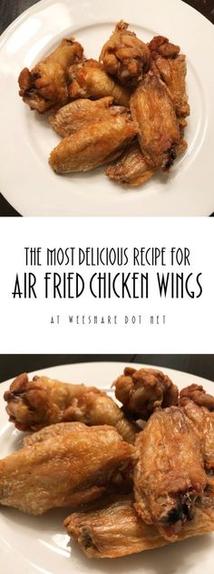 Have you heard the latest crave? The Air Fryer is a healthier option to the traditional fryer and with the right recipes... it can produce some DELICIOUS foods! This is a air fried chicken wing recipe that is surprisingly easy and extremely scrumptious!