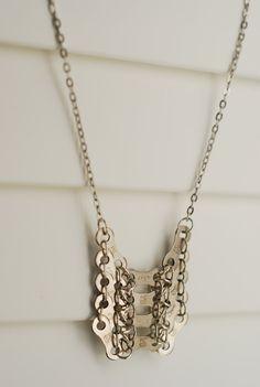 Bike chain jewellery