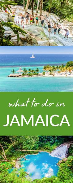 What to do in Jamaica. There are so many incredible things to do in Jamaica like ziplining, bobsledding and of course the beach! #Jamaica #Travel #Wanderlust