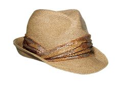 Looking for the perfect summer hat? Neither too tall nor too wide, this dapper fedora is universally flattering.