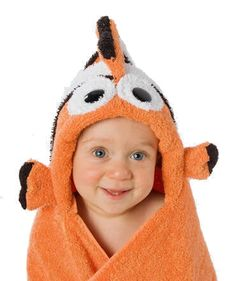 Nemo Hooded Bath Towel