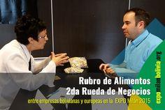 2da Rueda de Negocios, Rubro de Alimentos en la ExpoMilán 2015