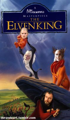 "Omigush! Whoever did this rocks!! Look at Thranduil's face as in saying, ""That's my son!"""