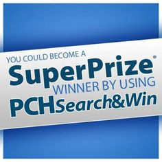 PCH Search&Win Blog