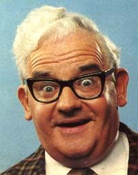 """Ronnie Barker 1929-2005  """"The toilets at a local police station have been stolen. Police say they have nothing to go on."""""""