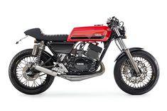 ϟ Hell Kustom ϟ: Yamaha RD400 1976 By Ellaspede