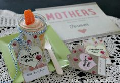 Printable Mother's Day Gift Tags :: Available on HoosierHomemade.com