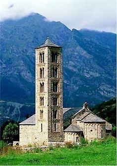 Sant Climent de Taüll  Romanic Català,  Vall de  Boí Lleida  Catalonia