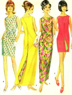 0ce07e00846 McCall s 9109 WRAP AROUNDER 1960s Reversible by PatternPeddler Vintage  Wear