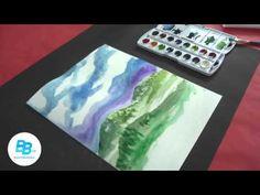 Activités artistiques Brault & Bouthillier : L'arbre silhouette Fiche A-14 - YouTube
