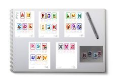 A-Z Desk Buddies with letter stand Oral Motor, Apraxia, Learning Tools, Speech Therapy, Disorders, Teacher, Student, Lettering, Education