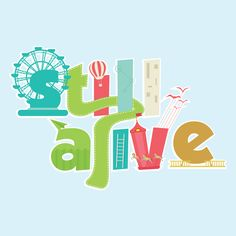 another typography vector