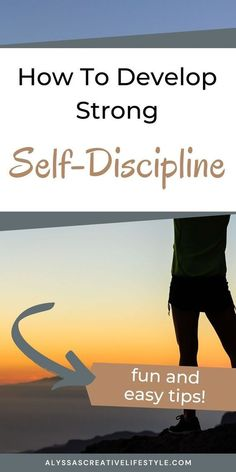 Learn how to build self discipline with these 10 tips. Crush more personal growth goals by first becoming more self disciplined.