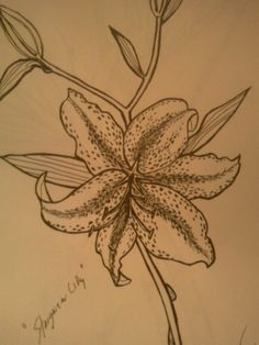My floral artwork