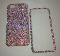 Crystal Bling RARE AB Bumpie Case For IPHONE 6 PLUS with 100% SWAROVSKI Elements