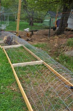 DIY chicken tunnel system makes chickens do the gardening | DIY projects for everyone!