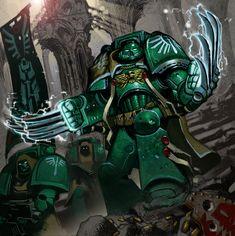 Tiernen Trevallion - Warhammer 40000 - Marines Espaciales
