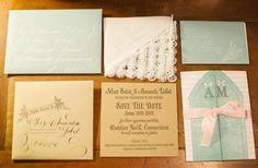 Blue Wedding Inspiration | Statonery