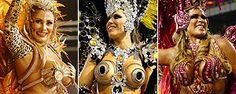 Com luxo, Gaviões, Mocidade e Tucuruvi se destacam no 2º dia de desfiles em SP