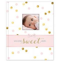Baby's 64 Page Memory Book - Sweet Sparkle