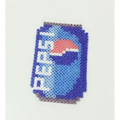 Pepsi perler beads by  zoey_zt0425