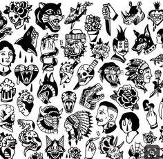 Best Ideas tattoo old school sleeve black Old School Tattoo Arm, Old School Sleeve, Old School Tattoo Designs, Traditional Black Tattoo, Traditional Tattoo Old School, Traditional Tattoo Design, Traditional Ideas, Traditional Flash, Traditional Dagger